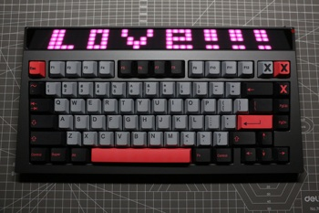 8008 Keycaps Cherry Profile PBT Keycap Mechanical Keyboard Sublimation Key Cap 1