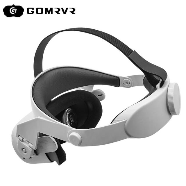 GOMRVR for Oculus Quest 2 Halo Strap Adjustable  ,Increase Supporting force and improve comfort-oculus quest2 Accessories 1