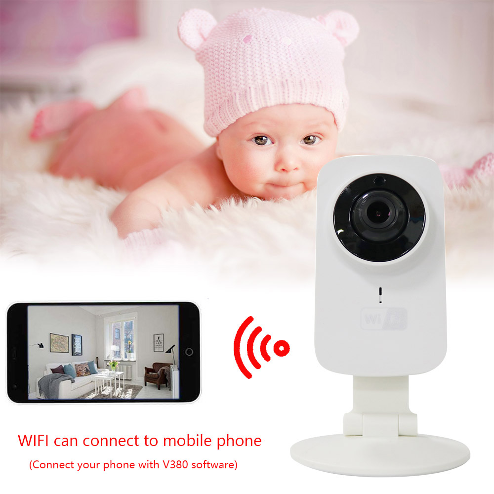 Baby Sleeping And Security Monitor Wireless Digital Video 720P Camera Radio Audio Night Vision Temperature Display