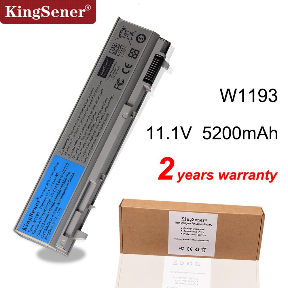 KingSener Laptop Battery For DELL Latitude E6400 E6500 E6410 E6510 M2400 M4400 M6400 W1193 PT434 KY265 GU715 C719R RG049 U844G image
