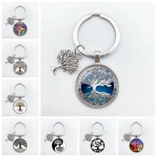2020 FashionTree of Life KeyChain Vintage Handmade Art Key Chain Key Rings Party Gift Tree of Life Jewelry