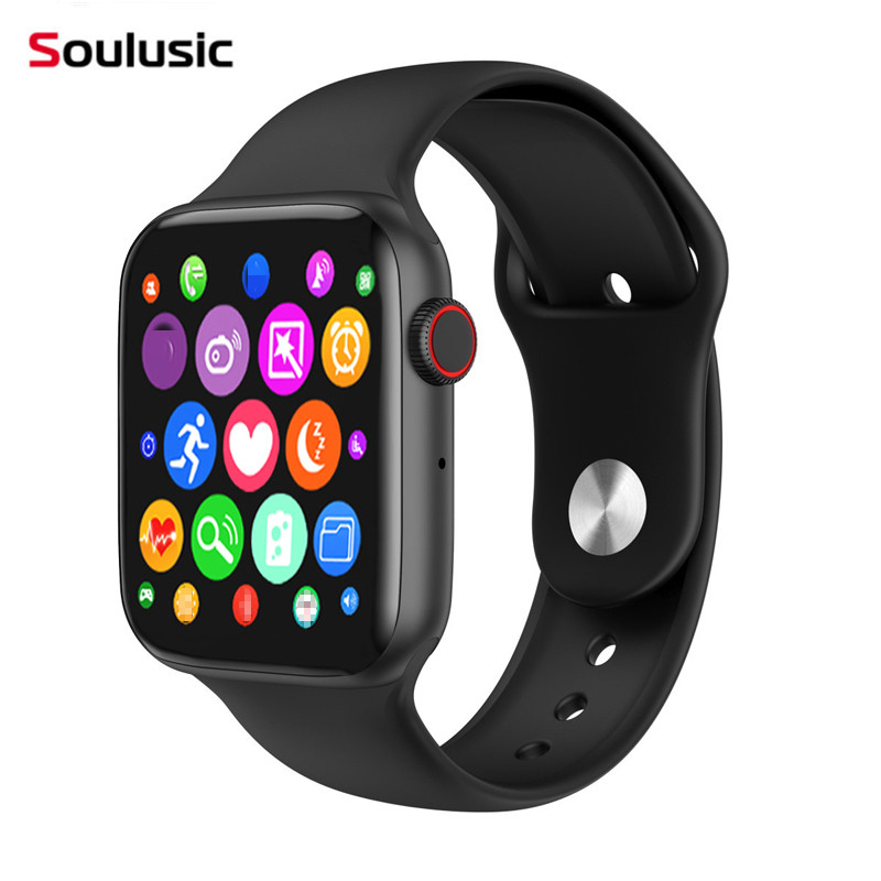 Soulusic W34 Upgrade IWO 8 Lite Beehive Bluetooth Call Smart Watch ECG Heart Rate Monitor Smartwatch For Android IOS PK IWO 8 12