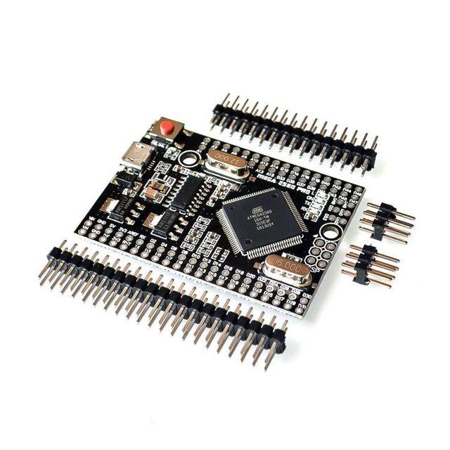 MEGA 2560 PRO Incorpora CH340G/ATMEGA2560 16AU Circuito Integrato con maschio pinheaders Compatibile per Arduino Mega 2560