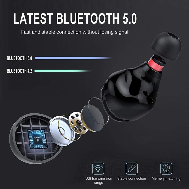 Image 3 - True Wireless Bluetooth Earphone IPX8 Waterproof Wireless  Bluetooth Headset Auto Pairing HD Sound Earbuds 3500mAh Charge  BoxBluetooth Earphones