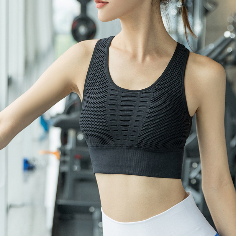 Yoga Workout Padded Sport Bra For Women