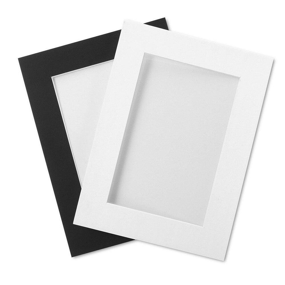21 шт./компл. черный и белый DIY Комбинации Бумага фоторамка настенные Гостиная Спальня Съемная забавная рамка для фотографий - 2