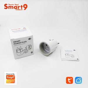 Image 5 - Smart9 Mini WIFI Smart Plug,16A Power Metering MAX. 3680 W,FR EU US ประเภท Smart Life APP รีโมทคอนโทรลขับเคลื่อนโดย Tuya