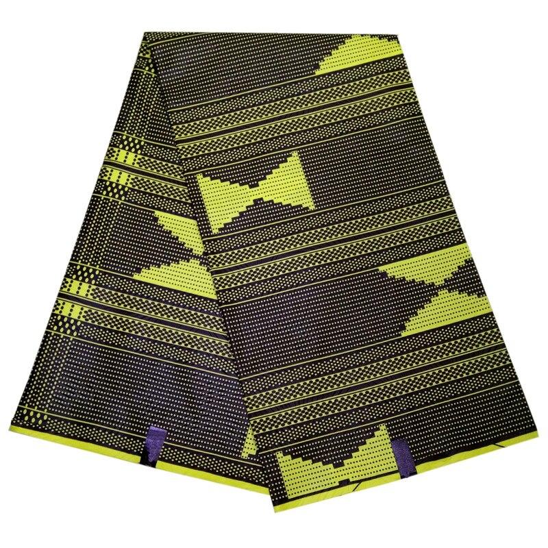 2019 New Style Africa Waxcloth Ivory Coast Flower Shape Wax African Fabric