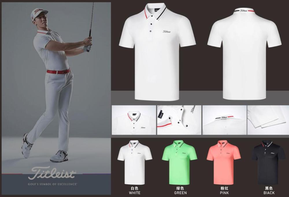 2020 New Golf Men's Short Sleeves