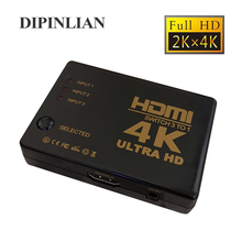 1080P 4K*2K HDMI Video Switch Switcher HDMI Splitter 3 input 1 output Port Hub for DVD HDTV Xbox PS3 PS4V Xbox PS3 PS4 hdmi switch switcher hd video switcher splitter 3 port 3 in 1 mini hdmi switcher for dvd hdtv xbox ps3