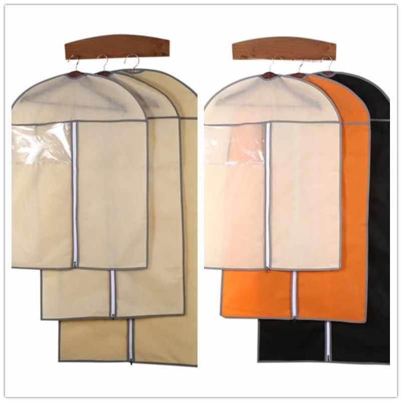Venda quente de armazenamento em casa capa protetor saco para vestuário terno vestido roupas casaco jaqueta para transporte da gota