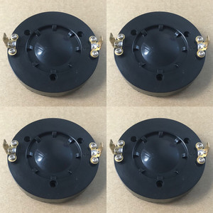 """Image 1 - Diaphragme pour Behringer Eurolive, 4 pièces, fil plat en aluminium pur, 34T120H8 B114 B115 8 ohm, haut parleur 1.35 """", pilote de klaxon 34T30D8"""
