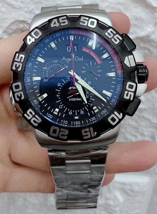 Luxury Brand New Men Stainless Steel Silver Black White Daydate Chronograph Sapphire Waterproof Classic Limited Sport Watch AAA+