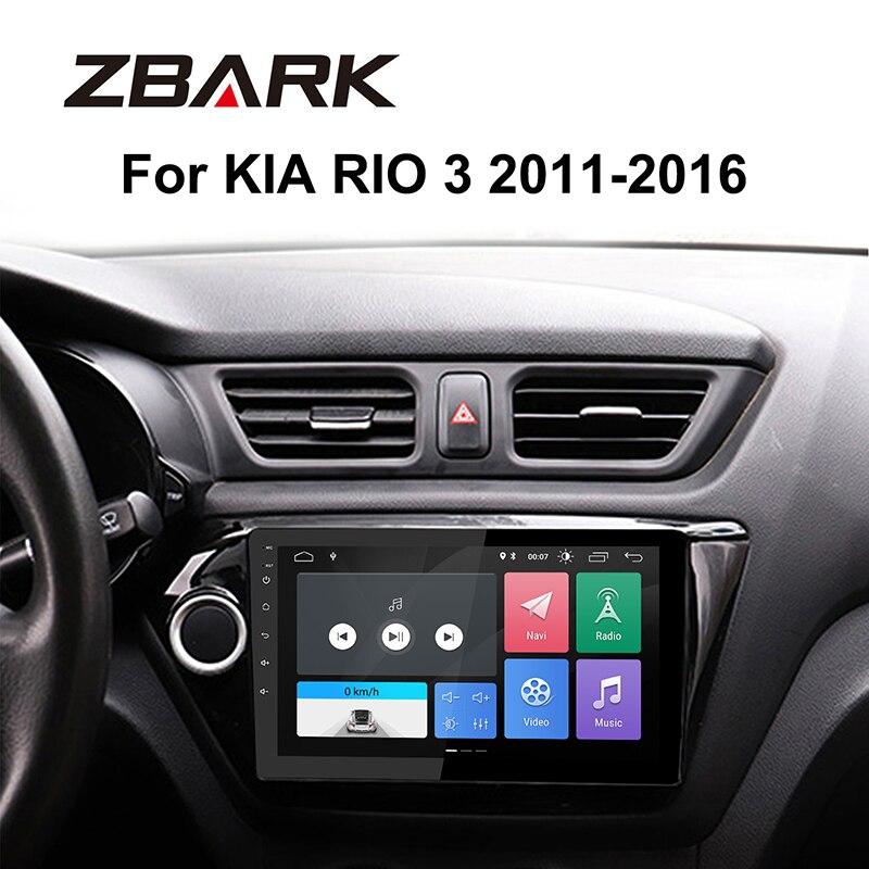 9 дюймов 2 Din Android 9,0 автомобильный стерео Мультимедийный Плеер ОЗУ 2 Гб gps навигация для KIA RIO 3 2011 2012 2013 2014-2016 YHTK030