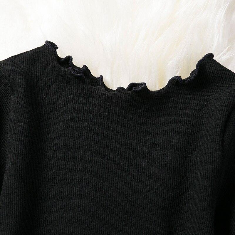 Full Sleeve Dress for Girls Clothing Cotton Pentagram Pattern Mesh Tutu Dress Casual Wear 2-7Years Kids Children Autumn Dresses 3