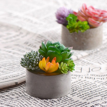 6 Holes Silicone Concrete Mold for Succulent Plants Pot Handmade Craft Clay