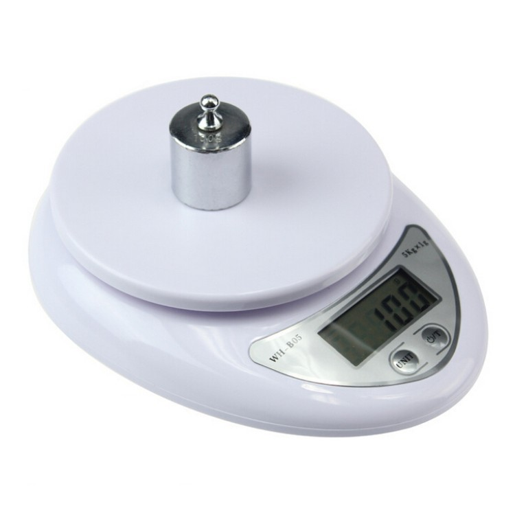 Steelyard Kitchen Scales Postal Food Balance Measuring Weight Libra Portable 5kg Digital Scale LCD Electronic Scales