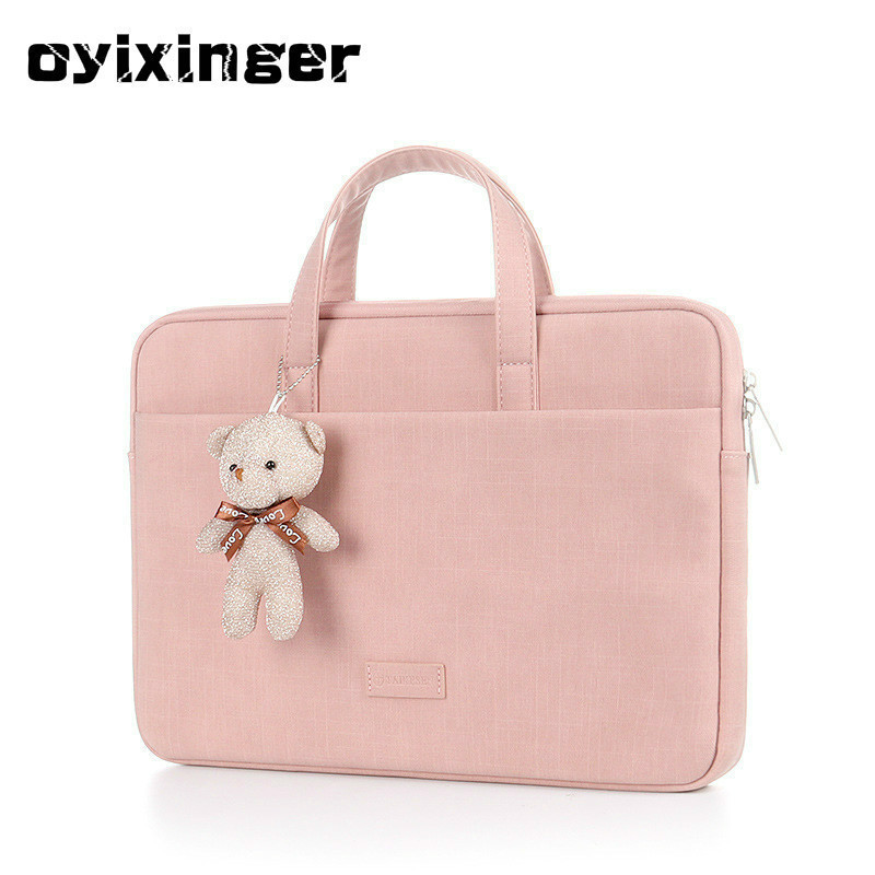 2020 Women For MacBook Pro 15.6 Inch Laptop Case Multi-Functional Notebook Bags Protective Portable Briefcase Computer Gift Bag