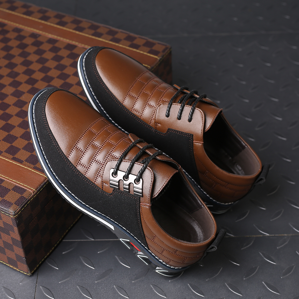 Hf8d51bbc76f3486b8db2b360c0550a93G 2019 New Big Size 38-48 Oxfords Leather Men Shoes Fashion Casual Slip On Formal Business Wedding Dress Shoes Men Drop Shipping