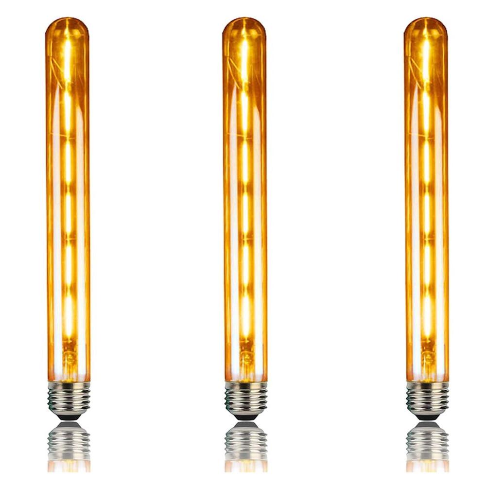 3pcsE27 Vintage Retro Edison Bulbs Spiral Light Handmade Glass Industrial Style T30-225 G80 Tungsten Bulb Pendant Lamps Lighting