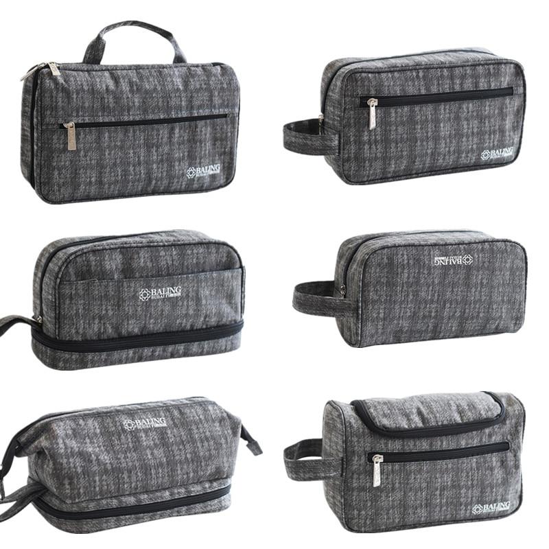 Toiletry Bag Hommes Garçons Filles Personnalisé Lavage Sac Sac à accessoires pencil case