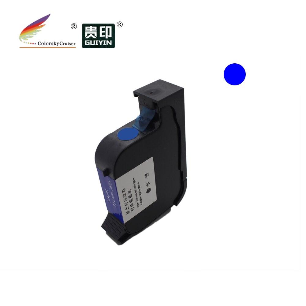 """Bilgisayar ve Ofis'ten Mürekkep kartuşları'de PUV127 hızlı kuru Pigment UV görünmez mürekkep mürekkep püskürtmeli kartuş için sahteciliğe karşı etiket baskı 600DPI baskı yüksekliği 1/2 """"12.7mm title="""