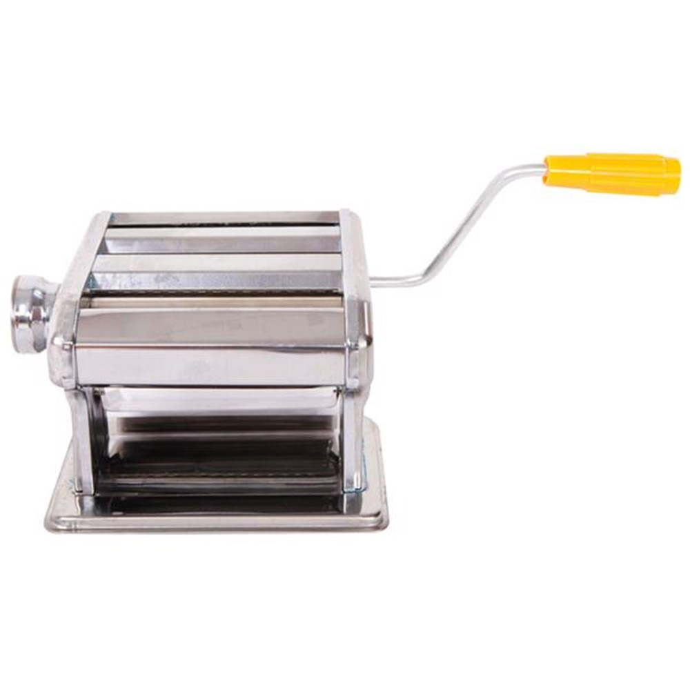 Edelstahl Manuelle Linguine Pasta Maker Nudel Spaghetti Presse Maschine Cutter Ausrollmaschine Ravioli Knödel Shell Form