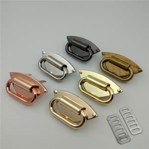 Decal Handbags Hardware-Accessories Decorative-Button Shoulder-Strap Metal Wholesale