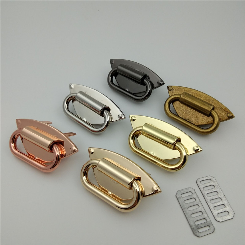 (10 Pieces/lot) Wholesale Handbags High-grade Metal Shoulder Strap Link Decal Decorative Button Hardware Accessories