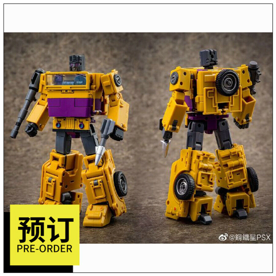 Transformers toy Ocular Max MMC OX PS-15 Fraudo G1 Bruticus Swindle in stock
