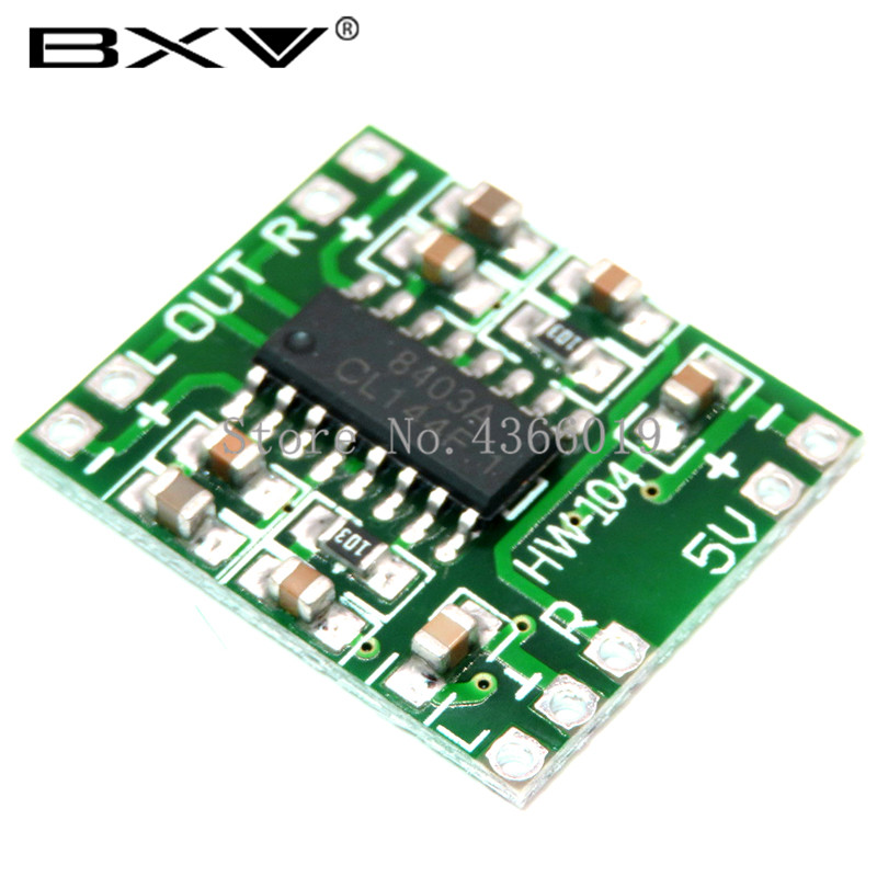 Amplifier-Board PAM8403 Class-D Digital Super Mini To Efficient 2--3w 5V