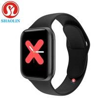 90% off Bluetooth Smart Watch Series 5 44 мм Мужские и женские Smartwatch для наручных часов Apple Watch iPhone телефона Android фитнес трекер обновление IWO