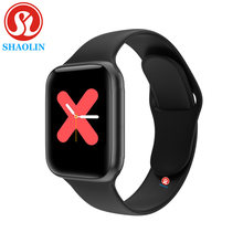 90% Off Bluetooth Smart Horloge Serie 5 44 Mm Man Vrouw Smartwatch Voor Apple Horloge Iphone Android Telefoon Fitness Tracker update Iwo(China)