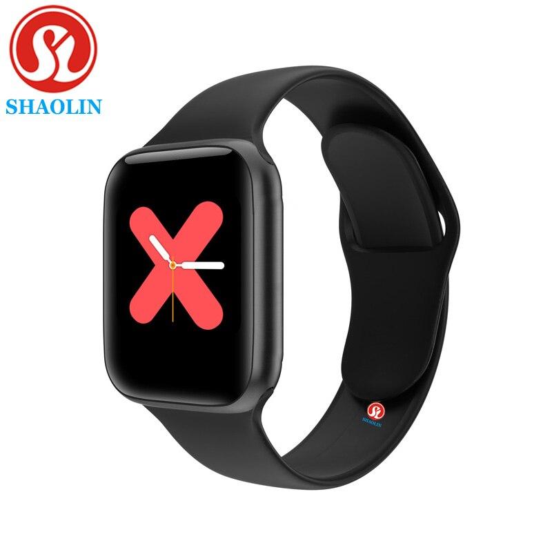 90% off Bluetooth Smart Watch Series 6 44 мм Мужские и женские Smartwatch для наручных часов Apple Watch iPhone телефона Android фитнес-трекер обновление IWO