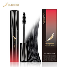 Mascara Waterproof Cosmetics Eyelashes CURLING Makeup Lengthening Thick 5D SINGERBIRD