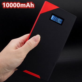 10000mAh Car Jump Starter Power Bank 800A Portable Car Battery Booster Charger 12V Starting Device Petrol Diesel Car Starter