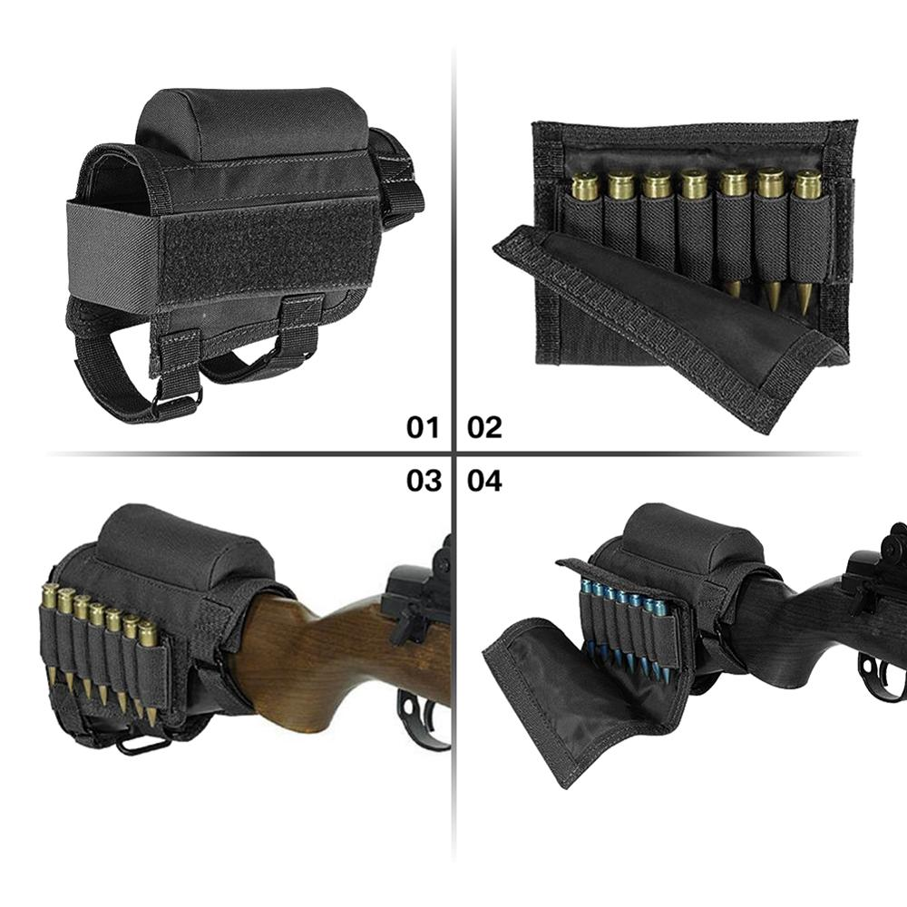 Tactical Removable Adjustable Bullet Stock 2