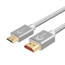 Mini HDMI to HDMI Cable High Speed Mini HDMI Cable 4K 3D 1080P for Camera Monitor Projector Notebook 1m 2m 3m 5m Mini HDMI Cable