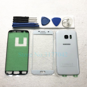 Image 3 - For Samsung Galaxy S7 Edge G935 G935F S7 G930 G930F Front Touch Panel Outer Lens + Rear Battery Door Back Glass Housing Cover