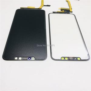 Image 5 - 5 יח\חבילה מגע מסך Digitizer זכוכית עדשת פנל עבור iPhone X XSmax LCD מסך חיצוני סדוק זכוכית החלפת לא צריך הלחמה
