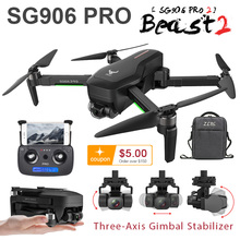 SG906 Gps Drone 4K 5G Wifi Cam SG906 Pro Pro2 Dual Camera Drone Profissional 2 3 Axis Stabilisator camera Quadrocopter Dron