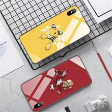 LOVE mom and dad Phone Case PC+TPU Phone case for iphone 11 Tempered Glass cover iphone se2020 7 8 plus X XS XR XR MAX(China)