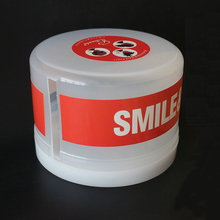 Disposable Neck Paper Roll Plastic Box Salon Hairdressing Tool Box Bottom with S