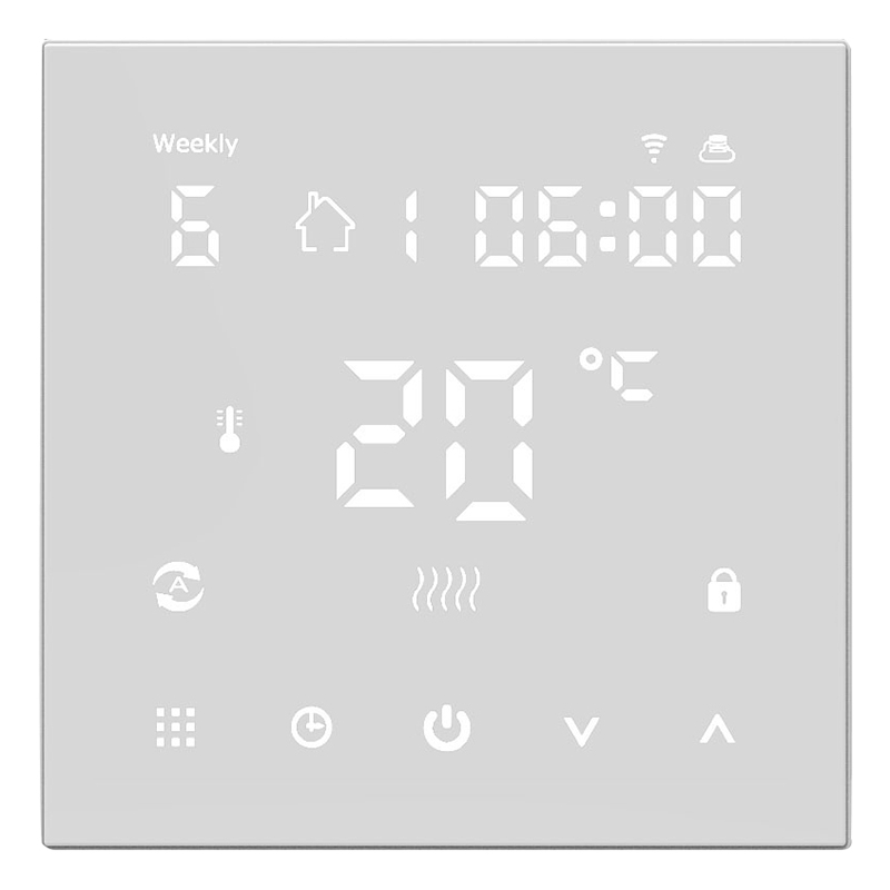 HLZS-WiFi Smart Thermostat Temperature Controller Electric Floor Heating System Thermostats Digital Underfloor Electric Heating