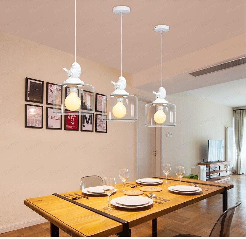 das crianças lâmpada sala vidro branco criativo