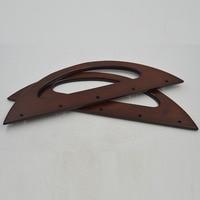 30*10cm Size Nice Wood Bag Frame Handle China Wholesale Wooden Purse Frame Handbag Handle Oem Welcome Wooden Purse Handle