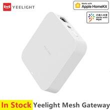 2020 新yeelightメッシュゲートウェイハブ支持装置のためのメッシュ照明製品wifiデュアルモードで動作アップルhomekit mijiaアプリ