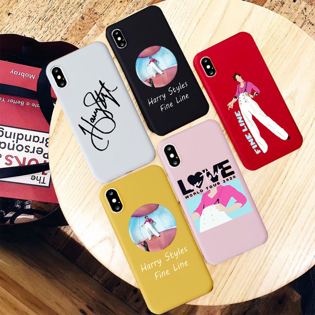HARRY STYLES THEMED IPHONE CASE (13 VARIAN)