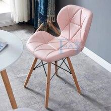 2 шт домашний стул для столовой на буковых ножках с художественным дизайном из искусственной кожи, кухонный стул, домашний стул для совещаний высокого качества
