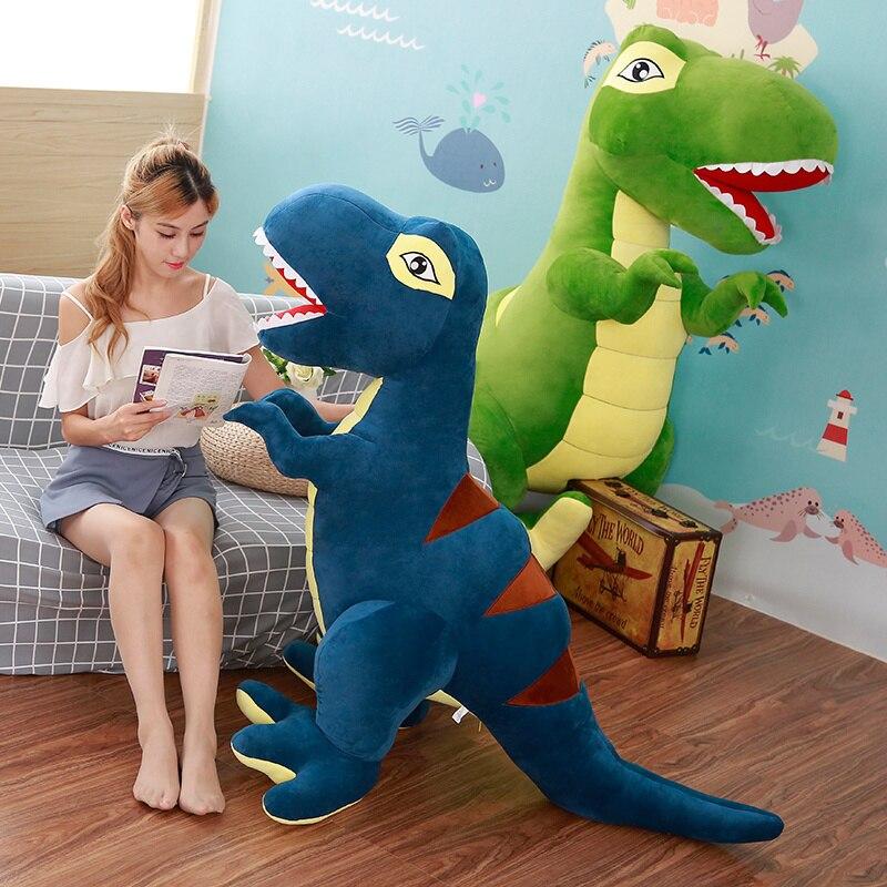 Image 5 - 60 см/90 см мультяшный динозавр плюшевые игрушки хобби огромный тираннозавр рекс плюшевые куклы мягкие игрушки для детей Мальчики Классические игрушки-in Мягкие и плюшевые животные from Игрушки и хобби